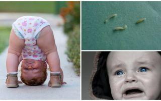 Gejala dan rawatan pinworms dalam kanak-kanak