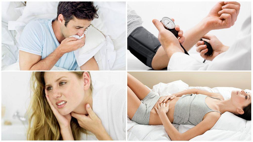Gejala penyakit selepas digigit oleh kutu yang dijangkiti